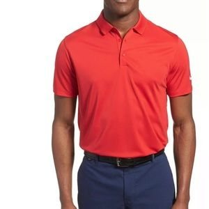 Nike Victory Golf Solid Polo Red NWT XL 725518